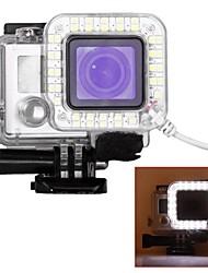 Schutzhülle LED-Spot-Licht LED Zum Gopro 5 Gopro 4 Silver Gopro 4 Gopro 4 Black Gopro 3 Gopro 3+ Gopro 3/2/1