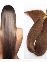 geraden Stock Haar / i Spitze Fusion Haarverlängerung Jungfrau vor-verbundenes Haar Keratin Kapsel 1 g / s 100g / pc 1pc / lot auf Lager