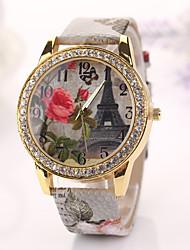 2015 nouvelles femmes montre à quartz de mode laiton montres-bracelets d'horloge reloj mujer promo dropshipping filles Studentx