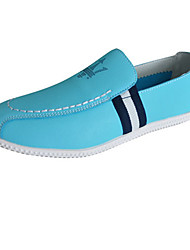 Men's Shoes Casual Loafers Blue/White/Orange
