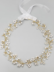 Alloy/Imitation Pearl Headbands Wedding/Party 1set