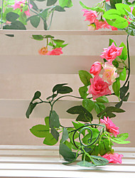 High Quality Artificial Flowers for Home Decoration Bright Color Artificial Flower Vine for Holiday Decorations