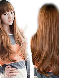 Lolita Style Perruque Peruca Synthetic Wig 3 color Cheap Natual Realistic Wig Neat Bangs Brief Cute Style Cosplay Wigs