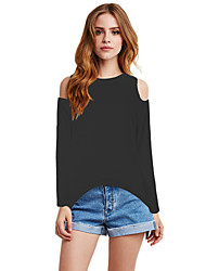 Women's Sexy Beach Casual Party Plus Size Split-back Loose T-shirt