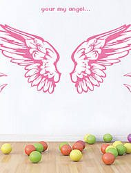Wall Stickers Wall Decals Style Angel's Wings PVC Wall Stickers