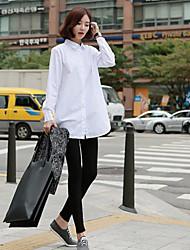 NUNEU   Women's Casual Long Sleeve Casual Shirts (Cotton)