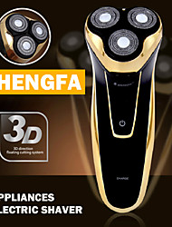 SHENGFA 3302 Professional Men's 3 Head Electric Shaver