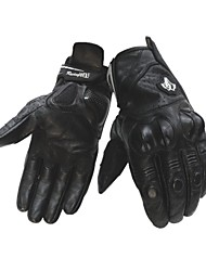 2016 New Black Leather Motorcycle Gloves XS S M L XL XXL