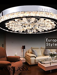 Ecolight® Crystal Flush Mount/LED Modern/Contemporary Living/Bed/Dining/Study/Office/Kids/Hallway Metal