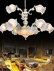 Traditional/Classic / Vintage / Retro Painting Metal Chandeliers Living Room / Bedroom / Dining Room / Study Room/Office / Hallway