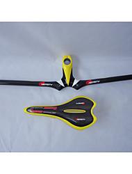 Bike Selle/Manubrio - Mountain bike - Altro - di Completamente in Carbonio - Giallo