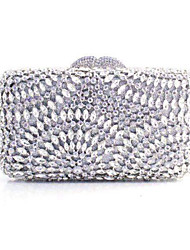 Women's  Crystal Evening Bag Hand Bag Chain Bag