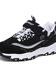 Boys' Shoes Outdoor/Athletic/Casual Leather Fashion Sneakers Black/Blue