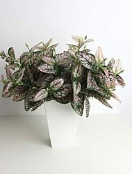11.8 «six branches rose hypoestes phyllostachya plante artificielle pour la décoration et mur végétal
