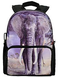 niños de la impresión de los animales 3d mochila escolar fabricante al por mayor bolsa en china bbp107