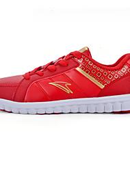 Zapatos de Mujer ( Rojo Cuero Sintético