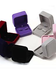 7 * 7 * 4cm collar de cajas de la joyería 1pc