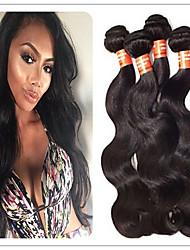 3Pcs/Lot brazilian virgin hair body wave 100% Unprocessed virgin brazilian hair cheap 100 human hair extension