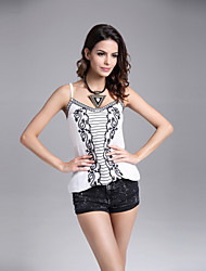 Women's Sexy Strap Embroidery Vest