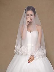 Wedding Veil One-tier Fingertip Veils
