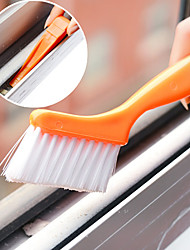 Window Track Cleaning Brush with Small Shovel designed Home(Random Color)