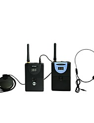 2.4G Digital Wireless Tour Guide / Translation system (1 Transmitter and 1 Receiver)