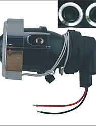 Carking™ H3 Halogen 55W 3000K 550ML Car Fog Light with White/Blue Light CCFL Angel Eyes