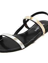 Women's Shoes Flat Heel Novelty Sandals Casual Black/White