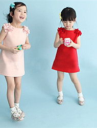 LULU  Kid's Sexy/Cute/Party Dress (Cotton Blend)