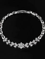 promoção venda partido platina revestida link / cadeia galeria de jóias pulseira