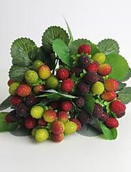 """11 """"hochwertigem Kunst waxberry für Heimtextilien Imitation Obst 1 Bund"""