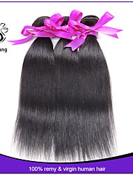 Peruvian Virgin Hair Straight 1 Pcs 7A Unprocessed Virgin Peruvian Straight Hair Cheap Human Hair Extension
