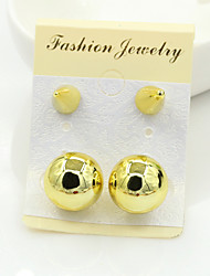 Earring Stud Earrings Jewelry Women Alloy / Platinum Plated / Gold Plated 1set Silver