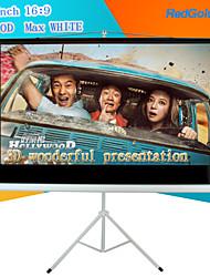 redgoldleaf 72 pulgadas 16: 9 pantalla de proyector portátil con soporte