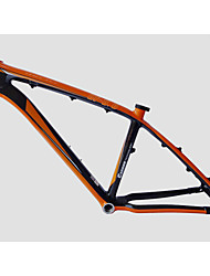 "Neasty Brand MB-NT02 Full Carbon Fiber MTB Frame Bright Orange Color Decal 26er Frame 15""/17"""