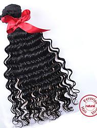 evet peruano cabelo virgem solto extensões de onda 1pc / lot peruano solto onda 100% cabelo humano tecelagem