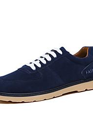 Men's Shoes Casual Fashion Sneakers Blue/Brown/Orange