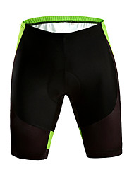 Overige unisex Zomer Wielrennen Shorts Korte broeken Ademend/Sneldrogend/wicking/Beperkt bacterieën/Vermindert schuren Groen