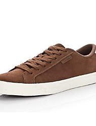 Men's Shoes Casual Canvas Fashion Sneakers Black/Brown/Red/Gray