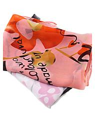 Bufanda Mujer Bonito/Casual - Raso
