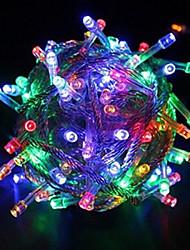 WENTOP 10 M 100 LED Diode Warmweiß/Weiß/RGB/Rot/Gelb/Blau/Grün/Purpur/Rosa Wasserdicht 4 W Leuchtgirlanden AC110/AC220 V