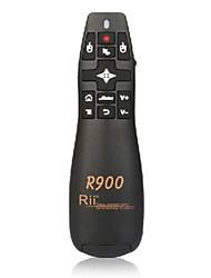 RII rt-mwk14 R900 2.4G mini draadloze lucht muis vliegen muis met laser pointer voor het voldoen aan lezingen