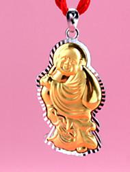 тысячи штрафа с тысячами золотых тысяч золота Будда Будда кулон улыбку