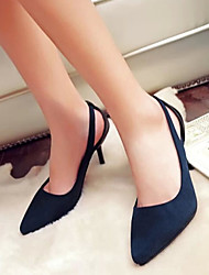 Stiletto - 6-9cm - Damenschuhe - Pumps/Heels ( PU , Blau/Rot )