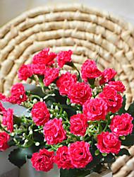Poliéster Lilás Flores artificiais