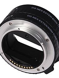 autofocus près-shot tube d'extension anneau adaptateur pour sony nex lentille de support de caméra