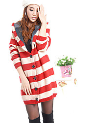 Nizi Woman'S Slim Hooded Jacket And Long Sections Plus Thick Velvet Warm Winter Sweater