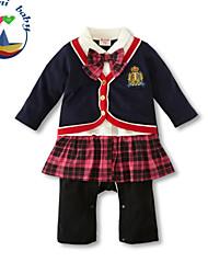 Girl's Cotton Blend Clothing Set , Spring/Fall Long Sleeve