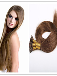 """18 """"-28"""" brésilien bâton hair / vierge pré-collé droite i lève extension de cheveux 1g / s 100g / pc 1pc / lot en stock"""