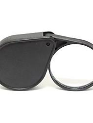 5x lupa de bolso de dobramento com handheld viagens óptica